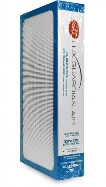 filter ioniserende luchtreiniger aerus lux guardian air platinum
