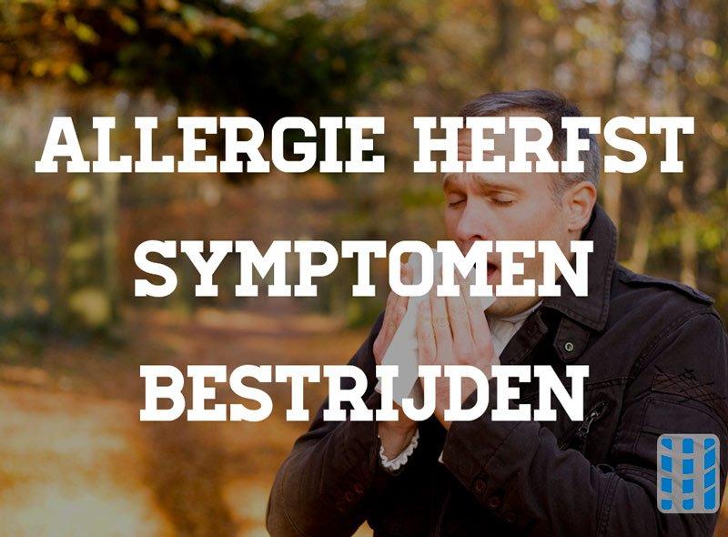allergie herfst symptomen bestrijden luchtreinigeradvies