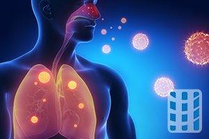 intrinsiek astma chronische infectie luchtwegen
