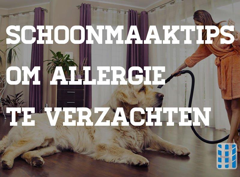 schoonmaaktips allergie verzachten luchtreinigeradvies
