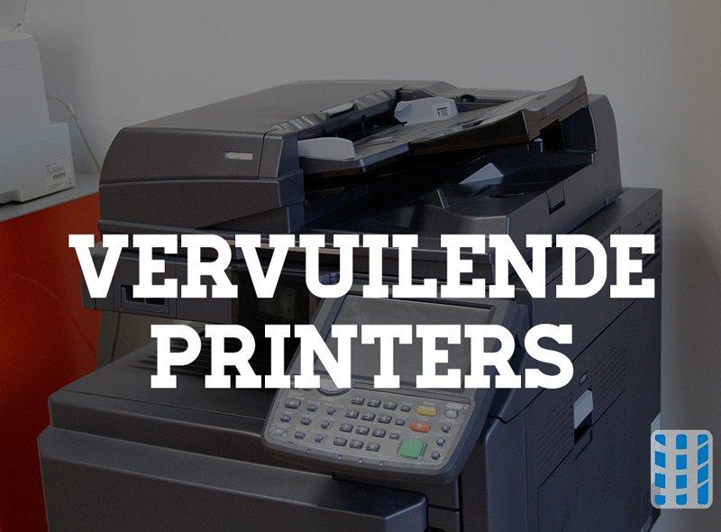 Fijnstof printers bedreigt de gezondheid van medewerkers op de werkvloer