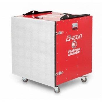 afzuiging werkplaats met prefilter en H 13 HEPA filter pullman ermator A4000