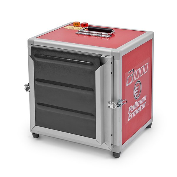 beschermplaat van prefilter in professionele luchtreiniger pullman ermator A1000