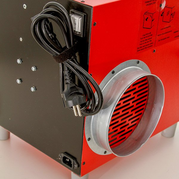 bouwstof afzuiging compact verplaatsbaar pullman ermator A600U