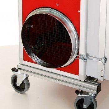 luchtuitlaat stofafzuiging houtbewerking pullman ermator A2000