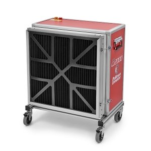 voorfilter tegen grote deeltjes houtstof uitwasbaar afzuiging houtbewerkingsmachines pullman ermator A2000