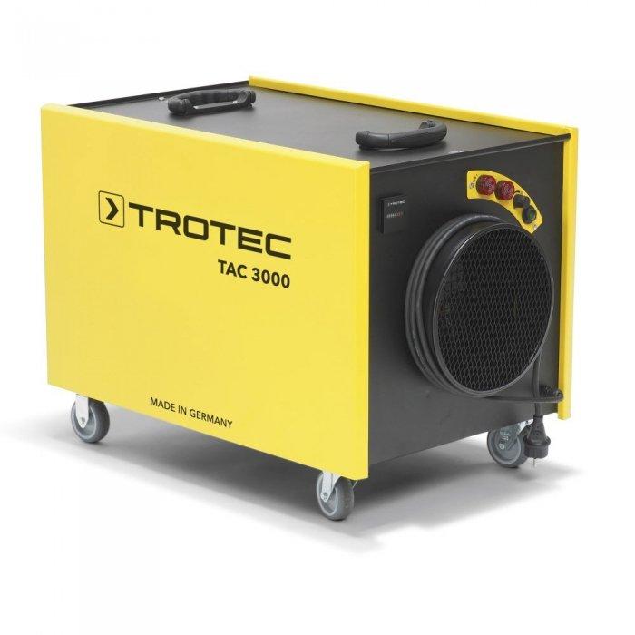 afzuiginstallatie houtbewerking 1000m³ per uur onderdruk systeem luchtreiniging houtstof tac 3000 trotec