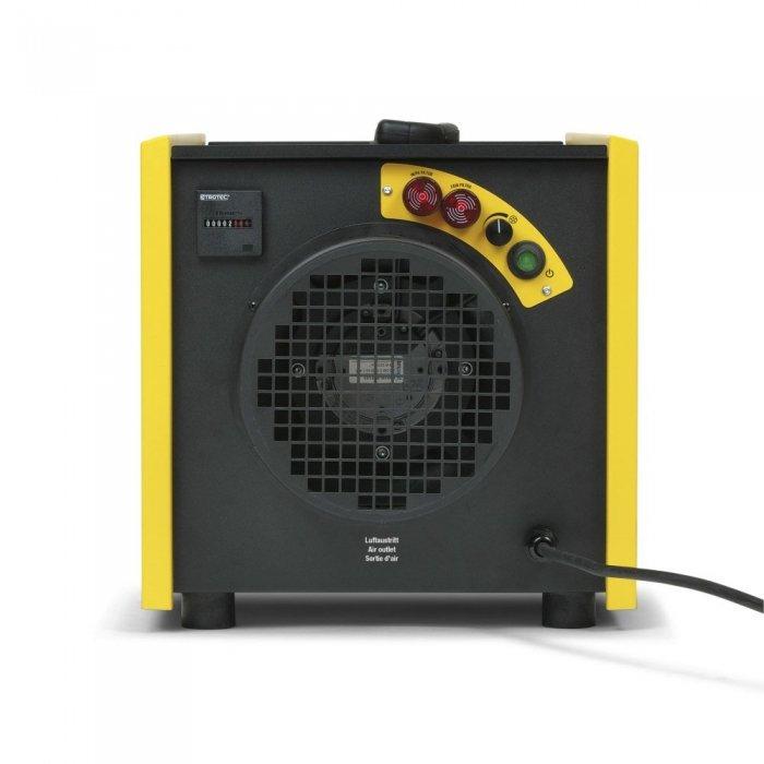 bedieningspaneel verklikkerslichtjes filters stofafzuigunit TAC 1500 trotec