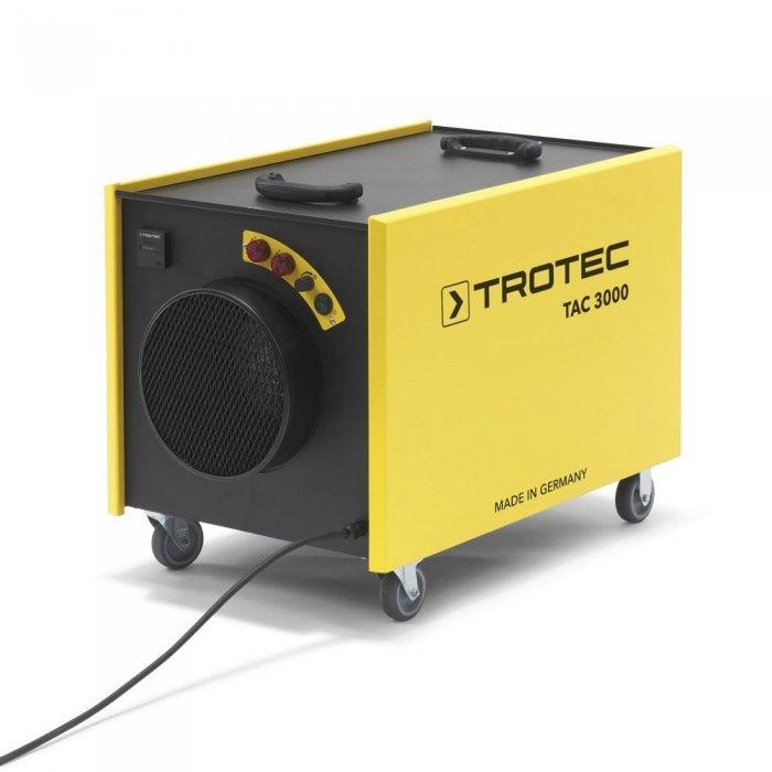 centrale stofafzuiging houtbewerking onderdruk timmerwerkplaats TAC 3000 trotec