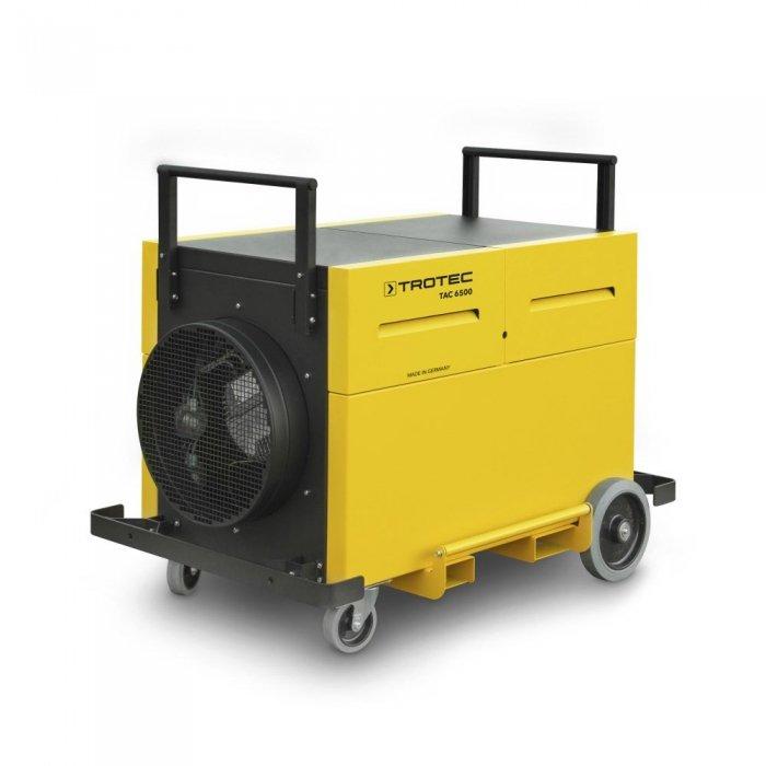 industriële afzuiging 3000m³ per uur groffilter hepa filter modulaire samenstelling TAC 6500 trotec