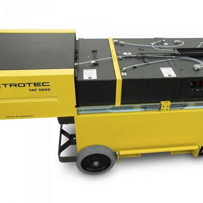 krachtige werkplaats stofafzuiging zelf regelbaar qua filtratie en vermogen TAC 5000 trotec