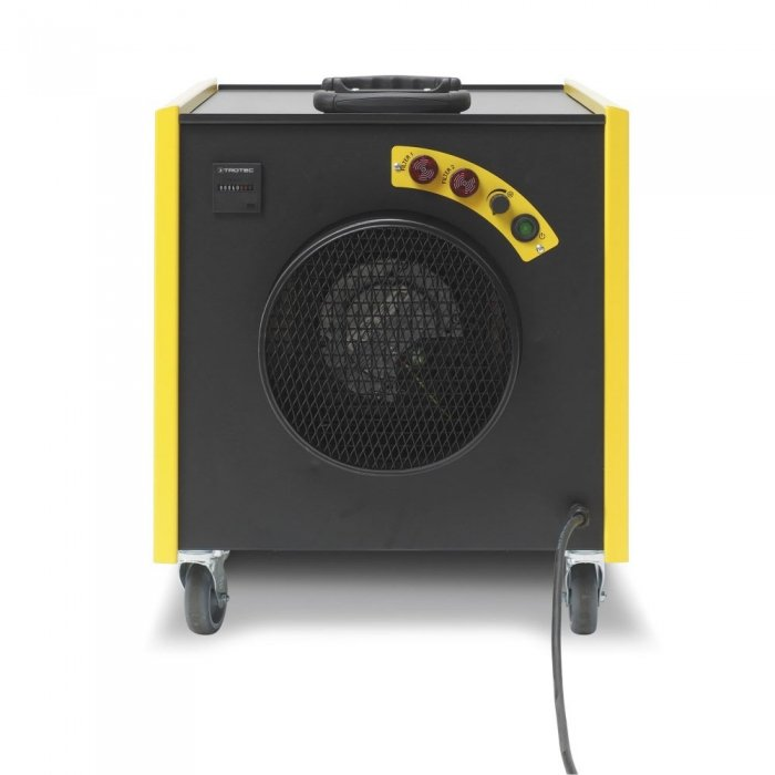luchtinlaat stofafzuiging houtbewerking schuurmachine zaagmachine TAC 3000 trotec mobiel op wielen