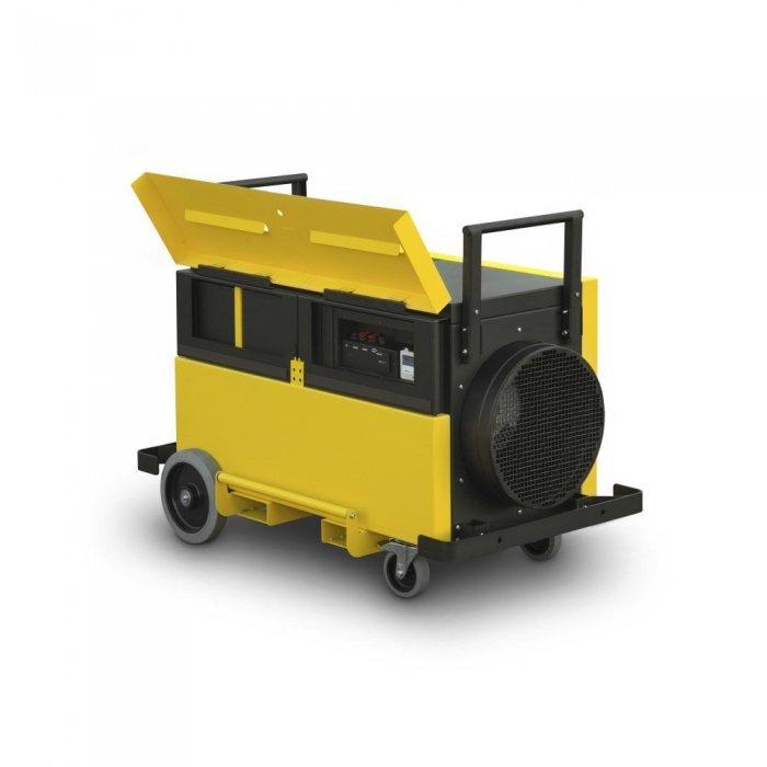 stofafzuiging werkplaats professionele filtratie met modulaire filtermodules TAC 5000 trotec