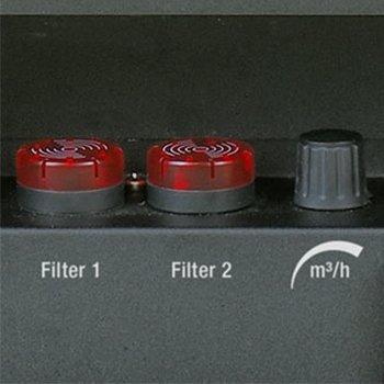 vervangingsindicators voorfilter en hoofdfilter optisch en akoestisch TAC 5000 trotec