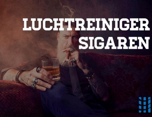 Luchtreiniger tegen sigarenrook – Krachtige rook- en geurbestrijding in huis