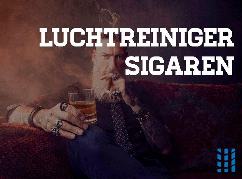 luchtreiniger sigarenrook irriterende geur gassen partikels advies