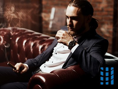 luchtreiniging in sigaren lounge verschillende krachtige mobiele toestellen