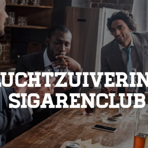 Luchtzuivering in sigarenclubs & lounges - Bestrijd geuroverlast & fijnstof
