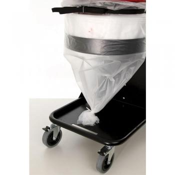 beste bouwstofzuiger zonder stofzak maar met plastieken longopac stofvrij puinstof afvoeren