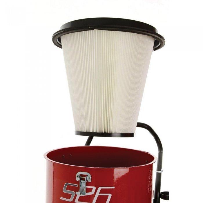 conische polyester voorfilter om HEPA filters te ontlasten topfiltratie bouw en puinstof S26 Pullman Ermator