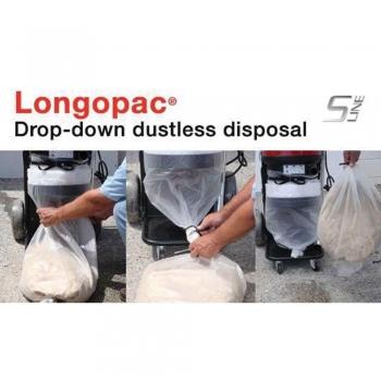 stofvrij afval afvoeren dankzij plastieken longopac slurfsysteem
