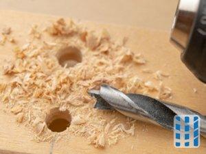 stofzuiger voor houtmot inzetbaar als handgereedschap voor houtboor bronafzuiging