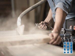 stofzuiger voor zaagsel en houtstof stofbeheersing in houtbewerkingsindustrie